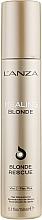 Parfémy, Parfumerie, kosmetika Rekonstrukční krém pro odbarvené vlasy - L'anza Healing Blonde Rescue