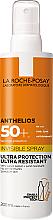 Parfémy, Parfumerie, kosmetika Ultralehký opalovací krém na obličej a tělo SPF50 + - La Roche-Posay Anthelios Invisible Spray