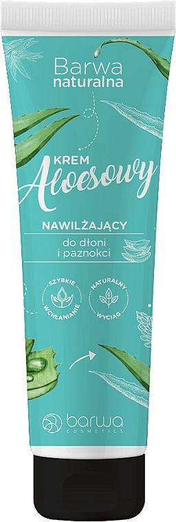 Aloe krém na ruce s glycerinem - Barwa Natural Hand Cream — foto N1