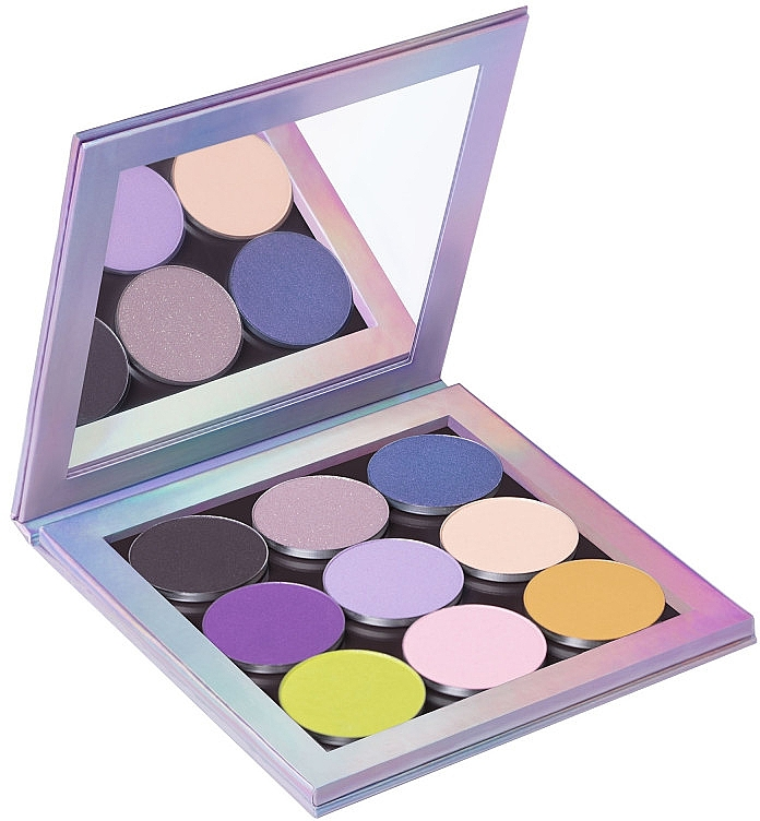 Magnetická paleta - Neve Cosmetics Holographic Creative Palette — foto N4