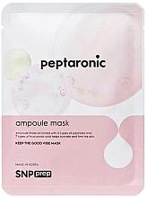 Parfémy, Parfumerie, kosmetika Hydratační plátýnková pleťová maska s peptidy - SNP Prep Peptaronic Ampoule Mask