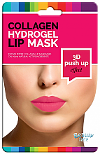 Parfémy, Parfumerie, kosmetika Kolagenová hydrogelová maska na rty - Beauty Face 3D Push-Up Collagen Hydrogel Lip Mask