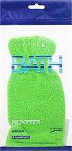Parfémy, Parfumerie, kosmetika Koupelová houba-rukavice, salátová - Suavipiel Bath Micro Fiber Mitt Extra Soft