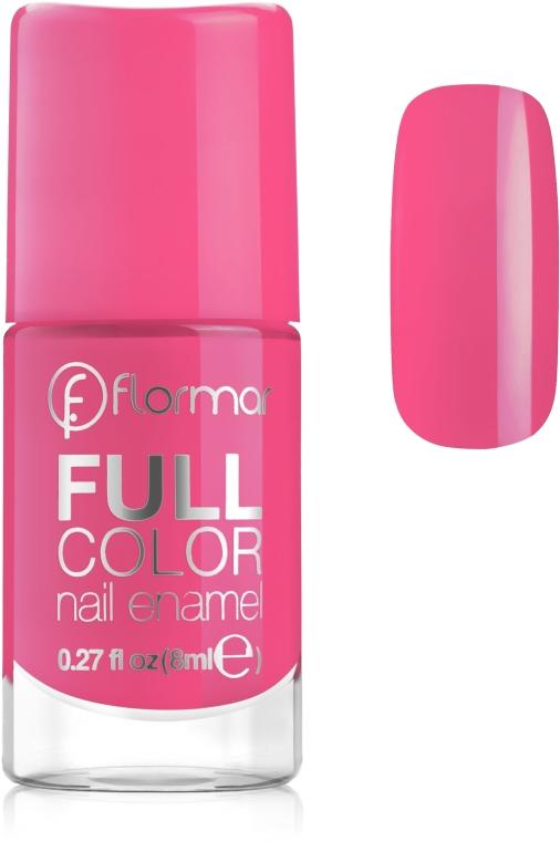 Lak na nehty - Flormar Full Color Nail Enamel