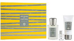 Parfémy, Parfumerie, kosmetika Acqua Di Parma Colonia Pura - Sada (edc/100ml + sh/gel/50ml + edc/mini/5ml)