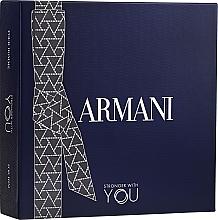 Parfémy, Parfumerie, kosmetika Giorgio Armani Emporio Armani Stronger With You - Sada (edt/100ml + edt/mini/15ml + sh/gel 75ml)