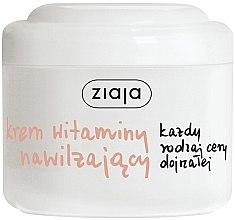 """Parfémy, Parfumerie, kosmetika hydratační krém na obličej """"Vitamin"""" - Ziaja Face Cream"""
