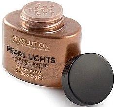 Parfémy, Parfumerie, kosmetika Sypký na obličej rozjasňovač - Makeup Revolution Pearl Lights Loose Highlighter