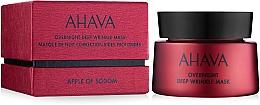 Parfémy, Parfumerie, kosmetika Maska proti hlubokým vráskám - Ahava Apple of sodom Overnight deep wrinkle Mask