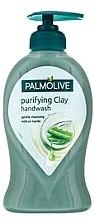 Parfémy, Parfumerie, kosmetika Tekuté mýdlo - Palmolive Aloe Purifying Clay Handwash