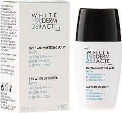 Parfémy, Parfumerie, kosmetika Rozjasňující ochranný krém 365 dní - Academie White Uv Screen SPF 50