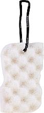 Parfémy, Parfumerie, kosmetika Pánská sprchová houba, bílá - Suavipiel Black Aqua Power Sponge