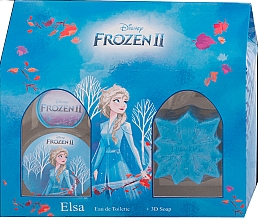 Parfémy, Parfumerie, kosmetika Disney Frozen II Elsa Gift Set - Sada (edt/50ml + soap/50g)