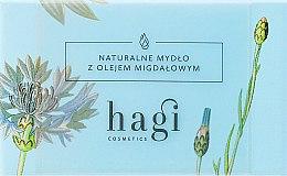 Parfémy, Parfumerie, kosmetika Přírodní mýdlo s mandlovým olejem - Hagi Soap