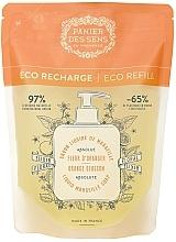 Parfémy, Parfumerie, kosmetika Marseille tekuté mýdlo Pomerančový květ (doy pack) - Panier des Sens Orange Blossom Liquid Marseille Soap