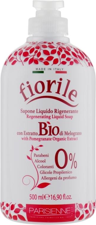 Tekuté mýdlo Granátové jablko - Parisienne Italia Fiorile Pomergranate Liquid Soap