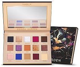 Parfémy, Parfumerie, kosmetika Paleta očních stínů - Nabla Poison Garden