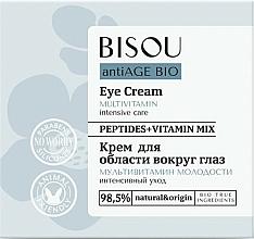 Parfémy, Parfumerie, kosmetika Oční krém Multivitamín mládí - Bisou AntiAge Bio Eye Cream