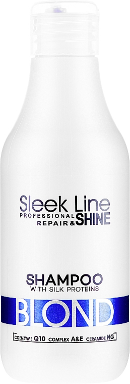 Šampon na vlasy - Stapiz Sleek Line Blond Hair Shampoo
