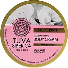 Parfémy, Parfumerie, kosmetika Hydratační krém na tělo - Natura Siberica Tuva Siberica Maral Root Moisturizing Body Cream