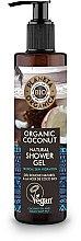Parfémy, Parfumerie, kosmetika Hydratační sprchový gel - Planeta Organica Organic Coconut Natural Shower Gel
