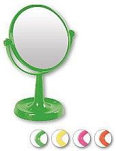Parfémy, Parfumerie, kosmetika Zrcadlo na stojanu 85734, kulaté, 15,5 cm, světle zelené - Top Choice Colours Mirror