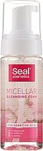 Parfémy, Parfumerie, kosmetika Micelární pěna pro citlivou pokožku - Seal Cosmetics Micellar Cleansing Foam