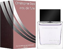 Parfémy, Parfumerie, kosmetika Christopher Dark Eau de Furie Men - Toaletní voda