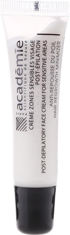 Krém po depilaci na obličej a citlivé oblasti - Academie Post Epilation Face Creme For Sensative Areas  — foto N2