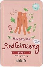 Parfémy, Parfumerie, kosmetika Látková maska na obličej Červený ženšen - Skin79 Fresh Garden Red Ginseng Mask