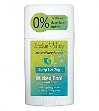 Parfémy, Parfumerie, kosmetika Deodorant - Indus Valley Wicked Cool Deodorant Stick