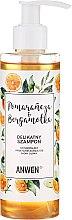 Parfémy, Parfumerie, kosmetika Šampon s pomerančem a bergamotem pro normální a mastnou pokožku hlavy - Anwen Orange and Bergamot Shampoo