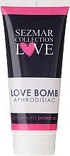 Parfémy, Parfumerie, kosmetika Sprchový gel na intimní hygienu - Sezmar Collection Love Aphrodisiac Shower Gel Love Bomb