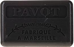 "Parfémy, Parfumerie, kosmetika Marselské mýdlo ""Mák"" - Foufour Savonnette Marseillaise Pavot"