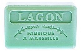 Parfémy, Parfumerie, kosmetika Marseille mýdlo Laguna - Foufour Savonnette Marseillaise Lagon