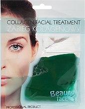Parfémy, Parfumerie, kosmetika Kolagenová maska s extraktem z okurky - Beauty Face Cucumber Extract Collagen Mask