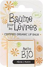 "Parfémy, Parfumerie, kosmetika Balzám na rty ""Broskev"" - Marilou Bio Certified Organic Lip Balm Peach"