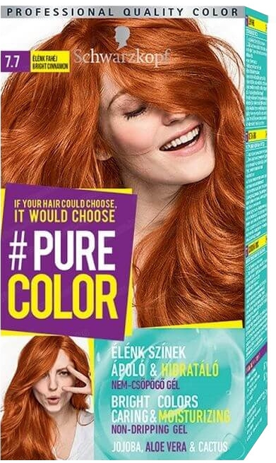 Barva na vlasy - Schwarzkopf Pure Color