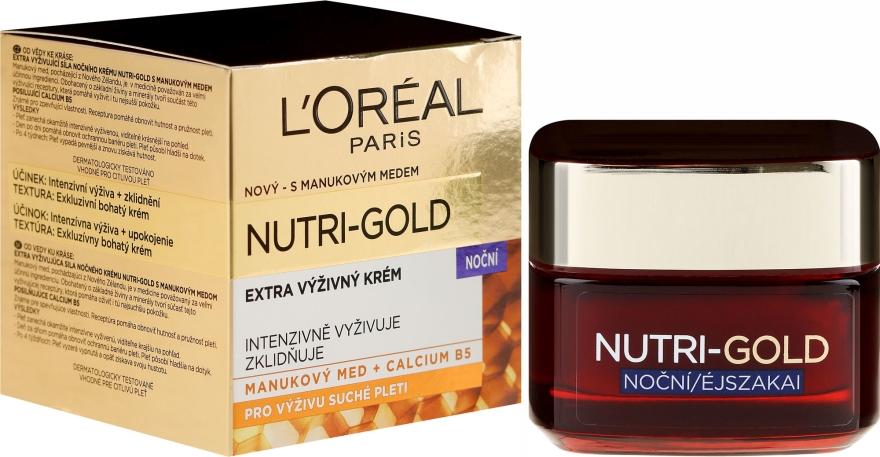 Noční péče na obličej - L'Oreal Paris Dermo-Expertise Luxusní Výživa — foto N1