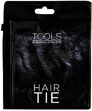 Parfémy, Parfumerie, kosmetika Gumička do vlasů velur, černá - Gabriella Salvete Hair Tie