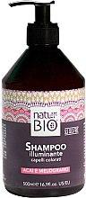 Parfémy, Parfumerie, kosmetika Šampon na vlasy Měsíček a Aloe - Renee Blanche Natur Green Bio Illuminante Shampoo