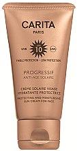 Parfémy, Parfumerie, kosmetika Opalovací krém na obličej SPF 10 - Carita Progressif Anti-Age Solaire Protecting And Moisturising Sun Cream For Face