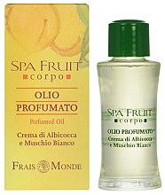 Parfémy, Parfumerie, kosmetika Frais Monde Spa Fruit Apricot And White Musk Perfumed Oil - Parfémový olej