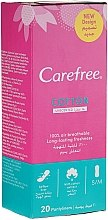Parfémy, Parfumerie, kosmetika Hygienické denní vložky, 20ks - Carefree Cotton Unscented Pantyliners