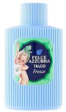 Parfémy, Parfumerie, kosmetika Tělový pudr - Felce Azzurra Fresh Talcum Powder