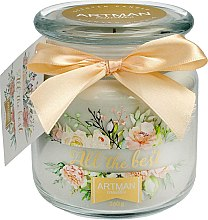 Parfémy, Parfumerie, kosmetika Aromatická svíčka, 10x11 cm., 360g. - Artman All the Best