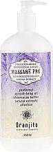 "Parfémy, Parfumerie, kosmetika Masážní mléko ""Pina colada"" - Oranjito Massage Pro Pina Colada Massage Body Milk"