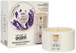 Parfémy, Parfumerie, kosmetika Aromatická svíčka - House of Glam Virgin Lavender Candle