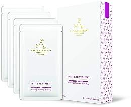 Parfémy, Parfumerie, kosmetika Omlazující plátýnková pleťová maska - Aromatherapy Associates Skin Treatment Hydrosol Sheet Mask
