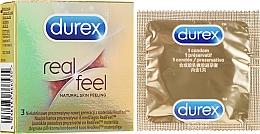 Parfémy, Parfumerie, kosmetika Kondomy Real Feel, 3ks - Durex Real Feel